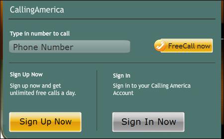 Calling America