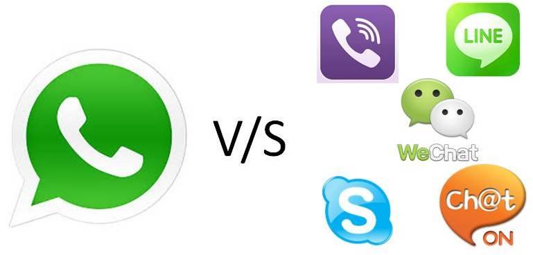 5 alternatives à WhatsApp